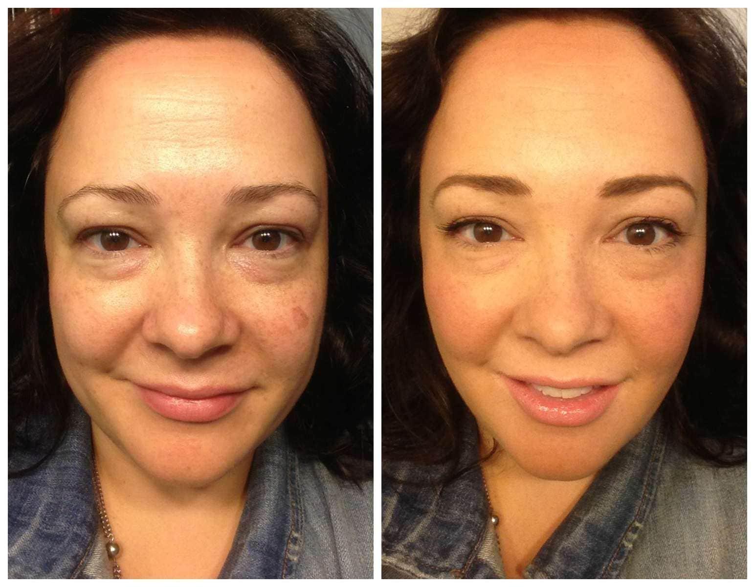 no makeup makeup look 40 year old woman