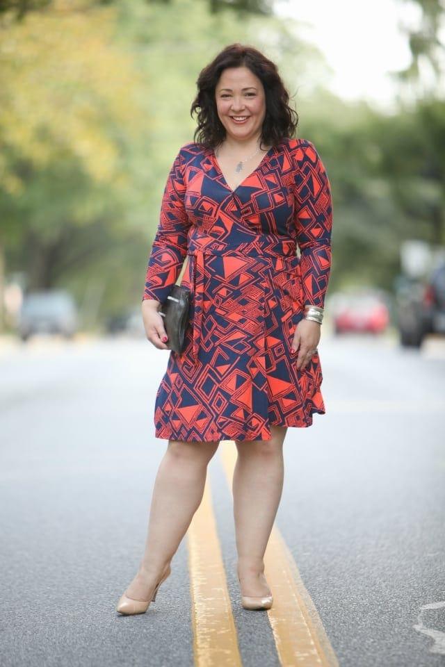 over 40 fashion blogger size 14