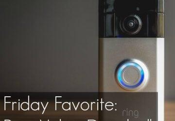 Friday Favorite: Ring Video Doorbell