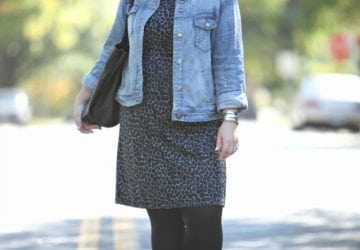 What I Wore: Laid Back Leopard