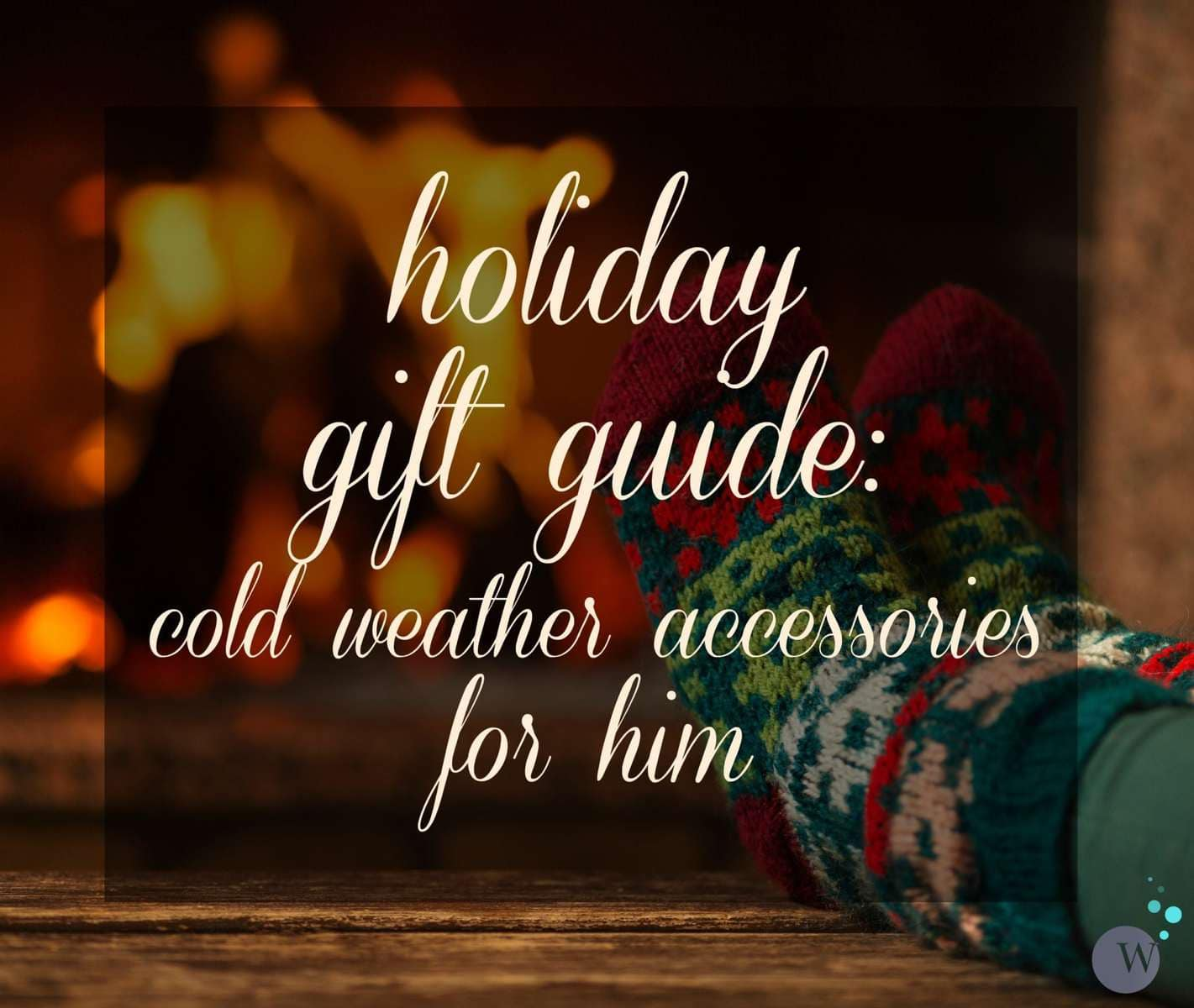 Holiday Gift Guide: The best cold weather accessories for the guy in your life via Wardrobe Oxygen