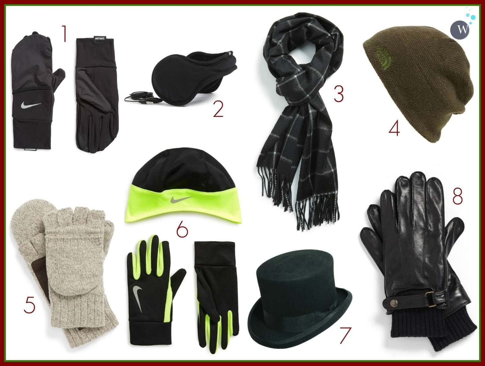 holiday gift guide for men cold weather accessories