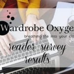 Learning from You: Changes to Wardrobe Oxygen thanks to Reader Survey Feedback