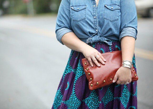 the bynn capella nikki clutch bag made in the USA featured by Wardrobe Oxygen an over 40 fashion blog