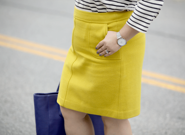 wardrobe oxygen featuring the Talbots pocket a-line skirt