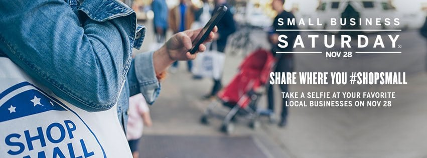 #shopsmall for Small Business Saturday