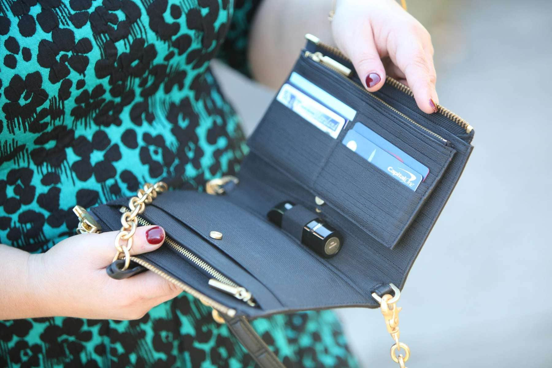 A review of the Dagne Dover Clutch-Wallet by Wardrobe Oxygen