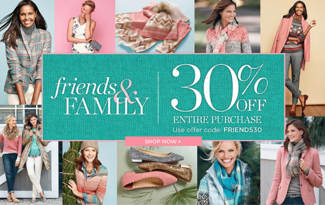Talbots Friends and Family 30% off sale - best picks by Wardrobe Oxygen