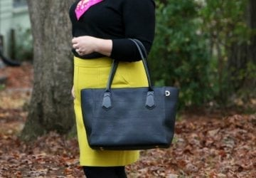 What I Wore: Autumn Brights
