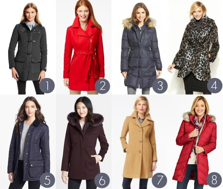 best coats for large busts
