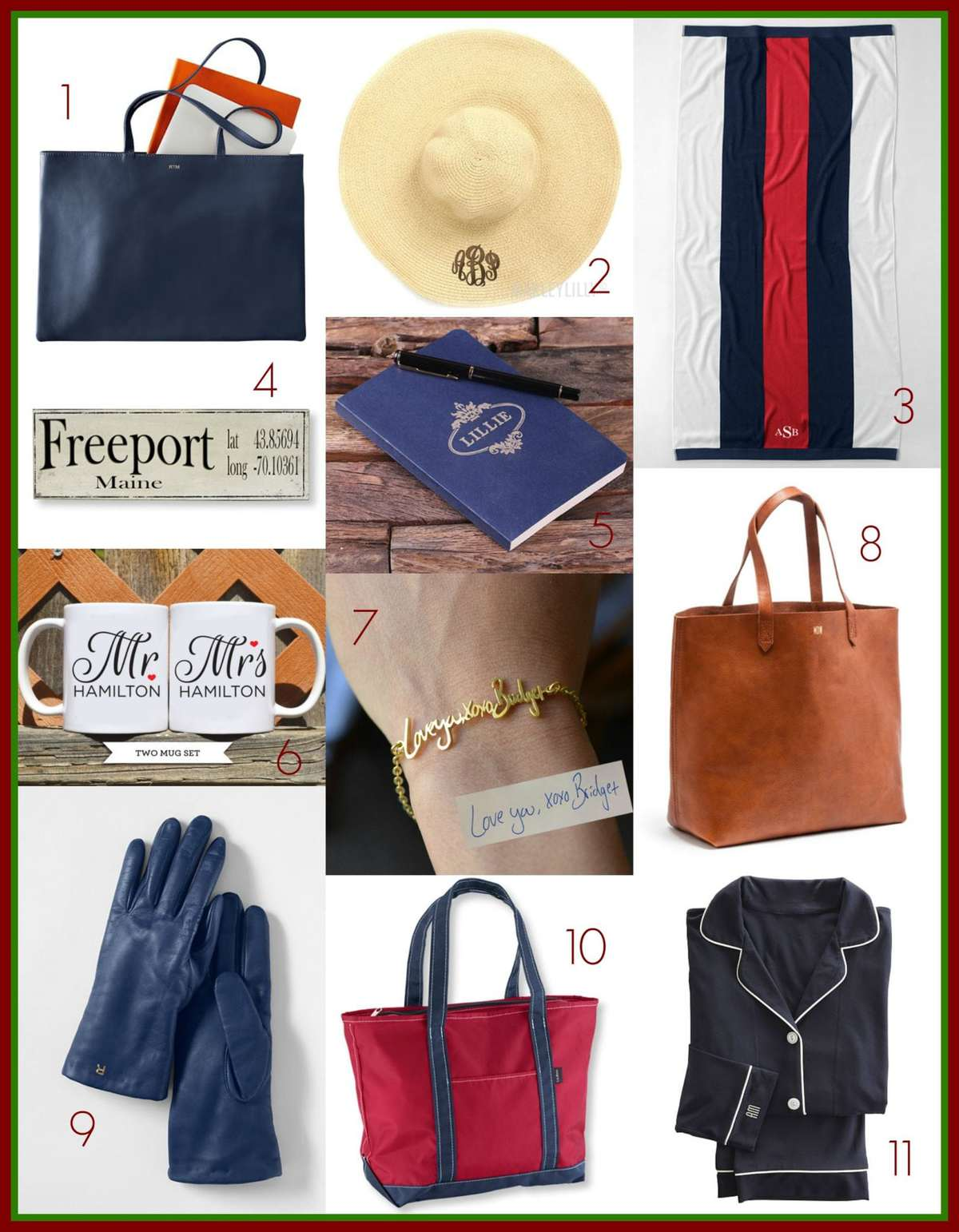 gift guide personalized gifts all pricepoints by Wardrobe Oxygen