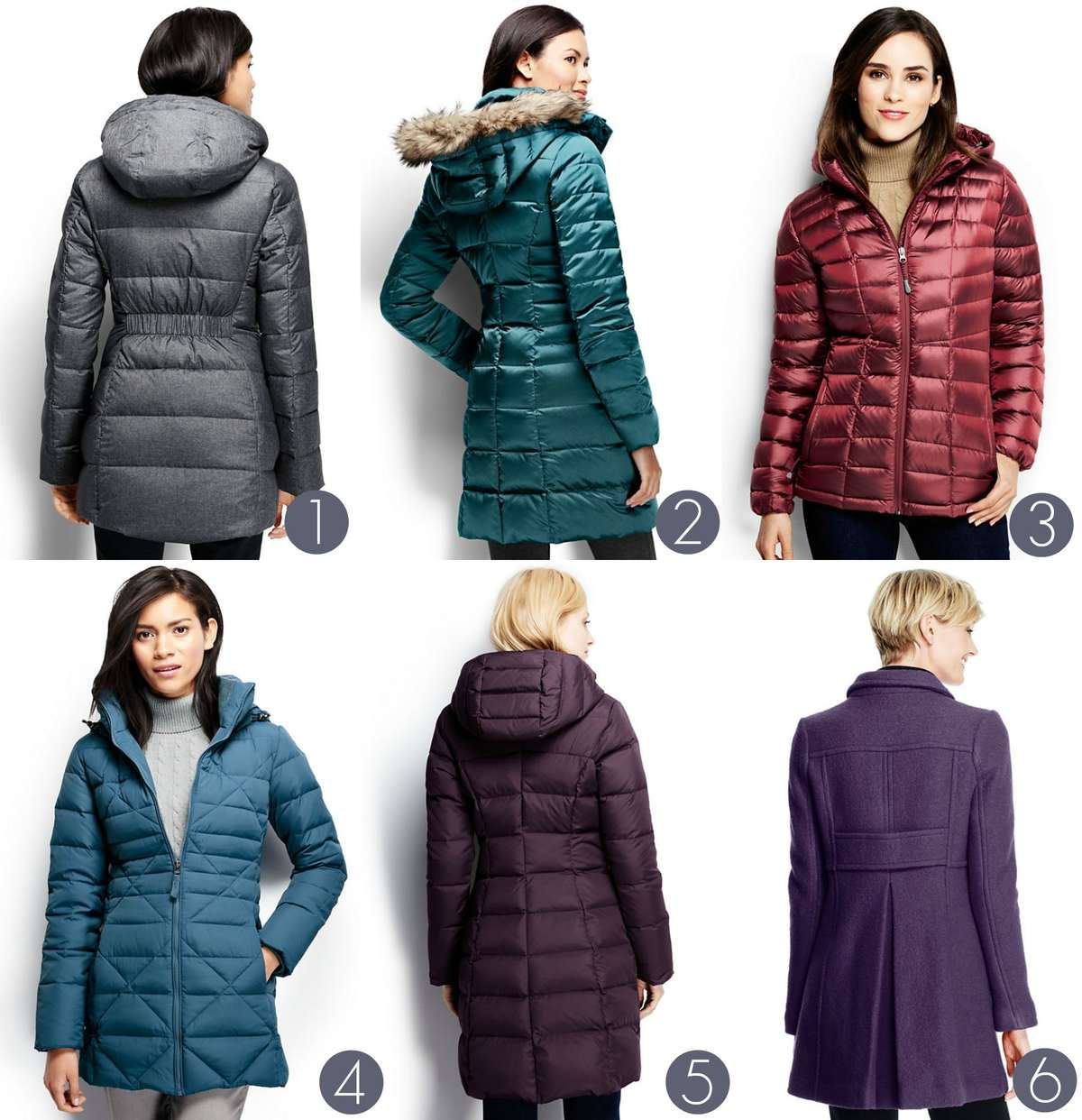 winter coats for large busts