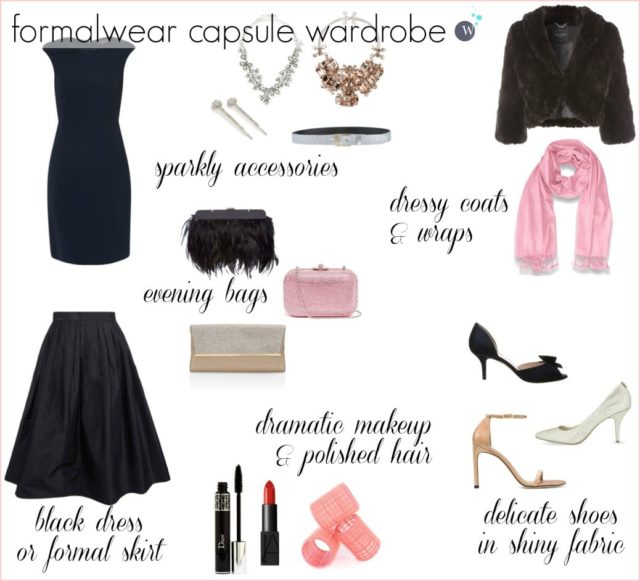 Wardrobe Oxygen: How to Create a Formalwear Capsule Wardrobe