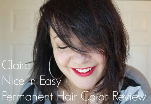 A review of Clairol Nice 'n Easy permanent hair color in Natural Light Ash Brown 116 by Wardrobe Oxygen, an over 40 fashion blog