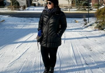What I Wore: Real Cold