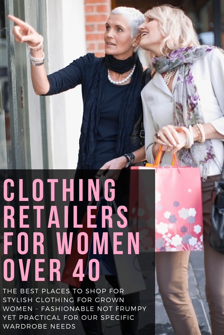best clothing retailers for women over 40