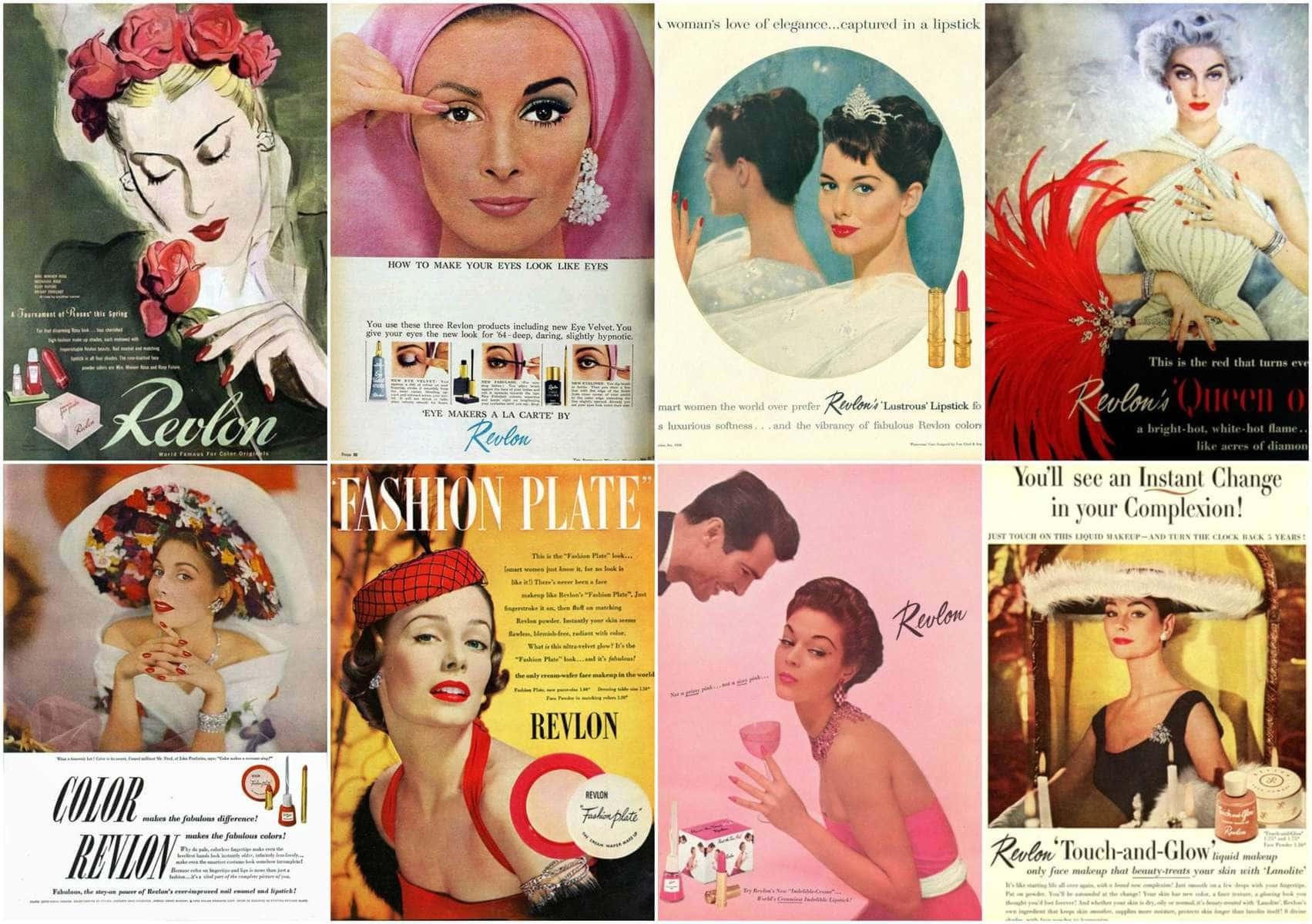 revlon ads from the past