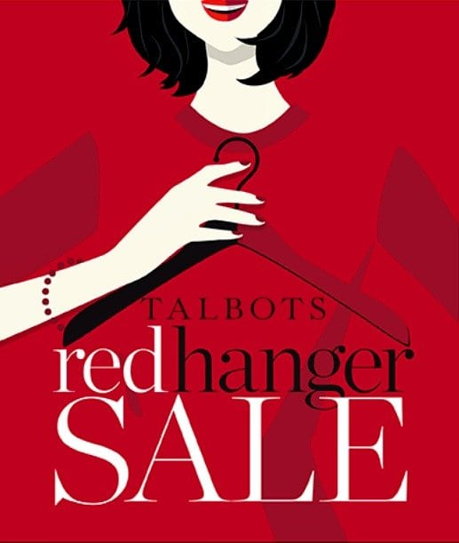 talbots red hanger sale picks 2016 wardrobe oxygen