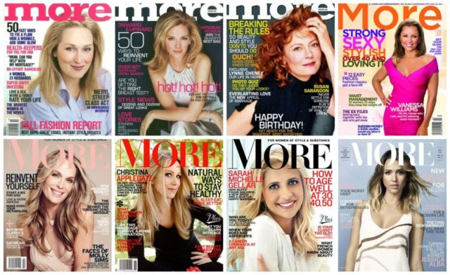 More Magazine Over the Years - Wardrobe Oxygen