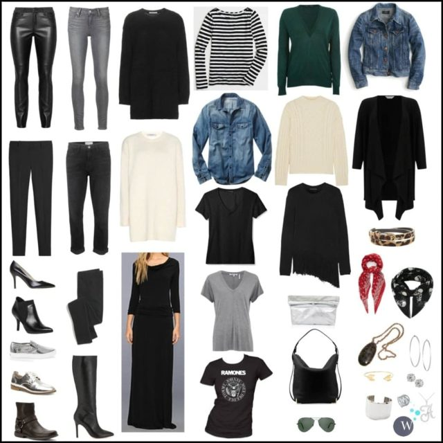 Wardrobe Oxygen - Capsule Wardrobe Winter Everyday Business Casual and Weekend