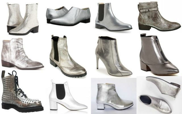 Wardrobe Oxygen - Silver boot trend for 2016 my picks