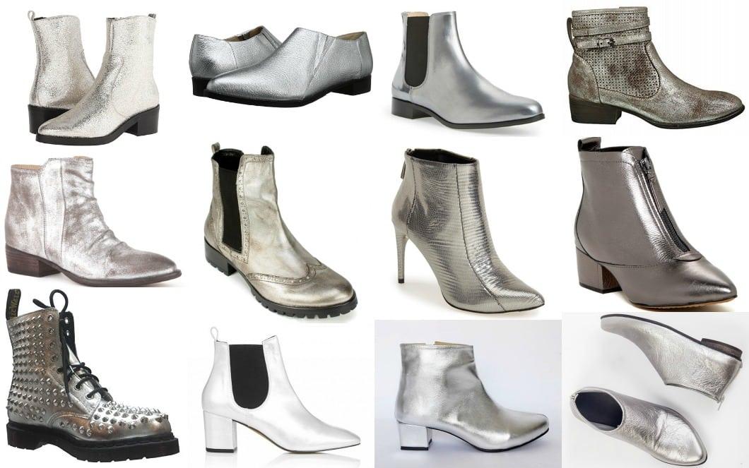 Wardrobe Oxygen - Silver boot trend for 2016 my picks