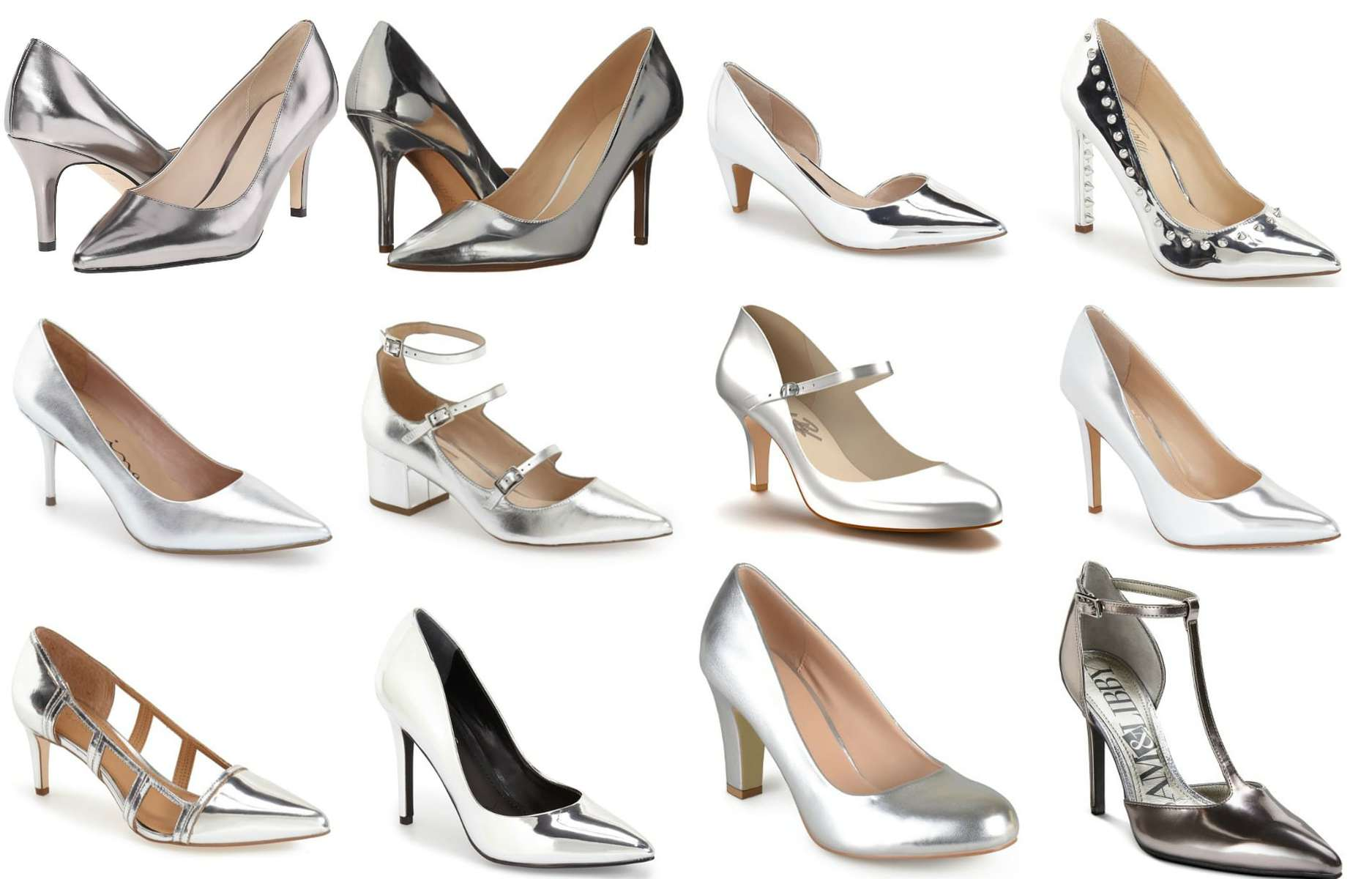Wardrobe Oxygen - The best silver mirror finish pumps for 2016 my picks all heights and styles