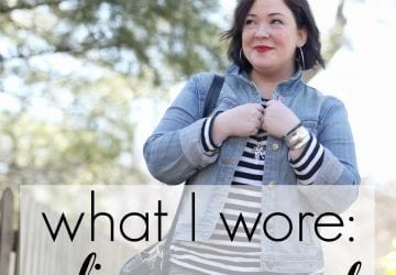 What I Wore: Olive Accent
