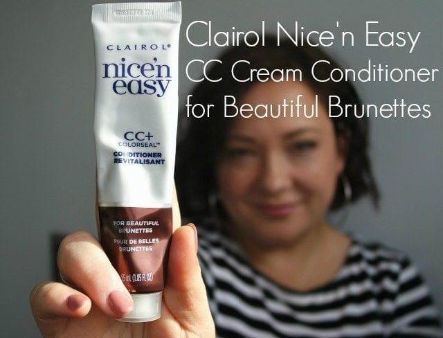 Clairol Nice 'N Easy CC Cream Conditioner for Brilliant Brunettes