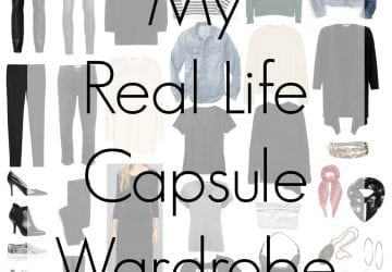 My Real-life Capsule Wardrobe
