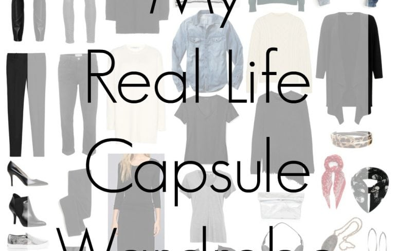 real life capsule wardrobe for winter - wardrobe oxygen