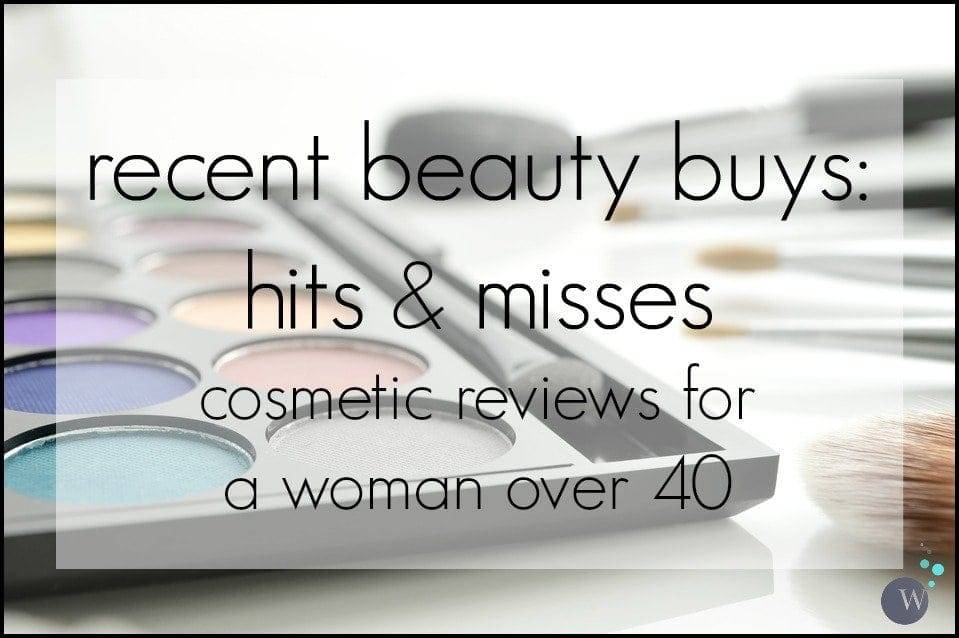 Beauty reviews - cosmetics for a woman over 40 - Wardrobe Oxygen