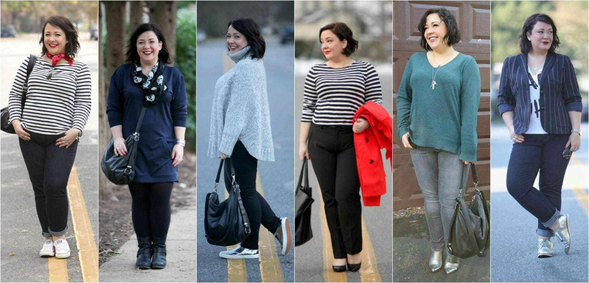 using pieces in the capsule wardrobe