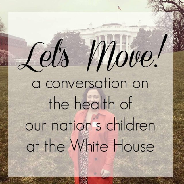 Let's Move! A Conversation on the Health of our Nation's Children - White House, March 2016 with Michelle Obama and 150 bloggers and online influencers