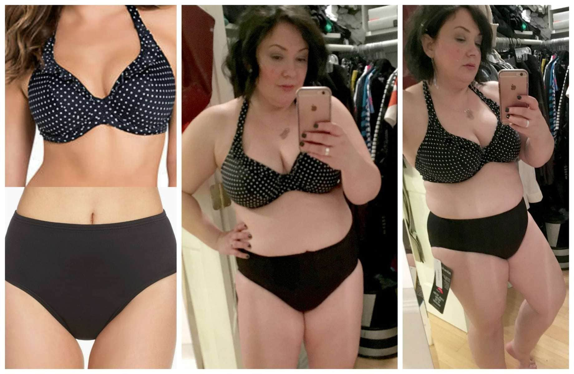 Miraclesuit 'Basic' Swim Briefs shown with Freya 'Pier' Halter Swim Top