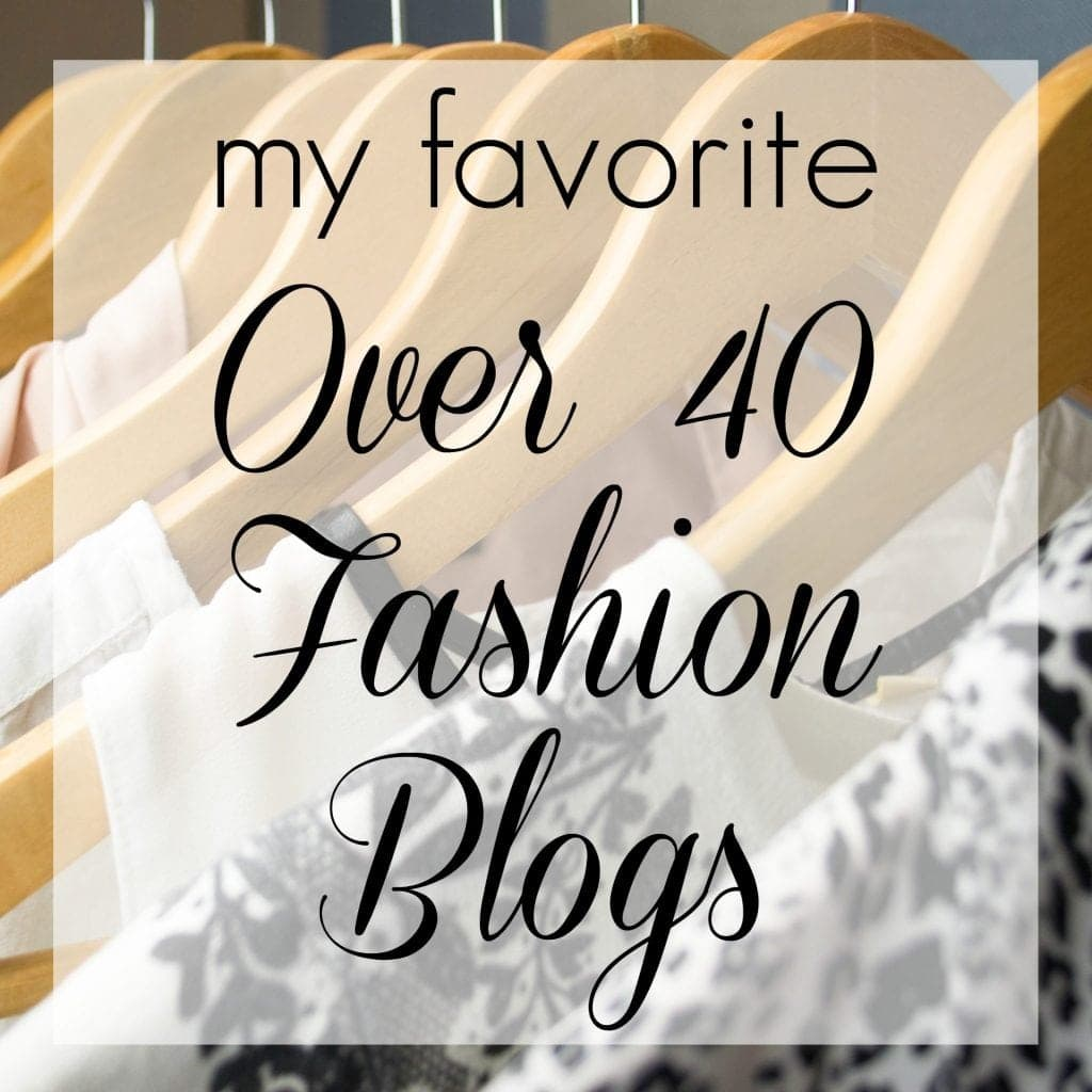 Wardrobe Oxygen - My Favorite Over 40 Fashion BlogsMy Favorite Over 40 Fashion Blogs - featured by popular Washington DC over 40 fashion blogger, Wardrobe Oxygen