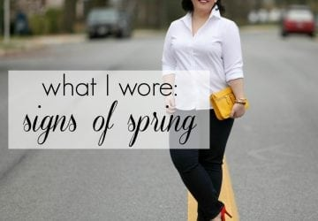 What I Wore: Signs of Spring [Sponsored]