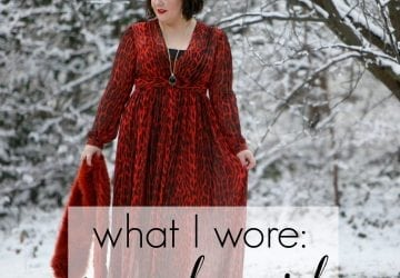 What I Wore: Snow Leopard