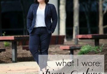What I Wore: Stripes and Shine [Sponsored]