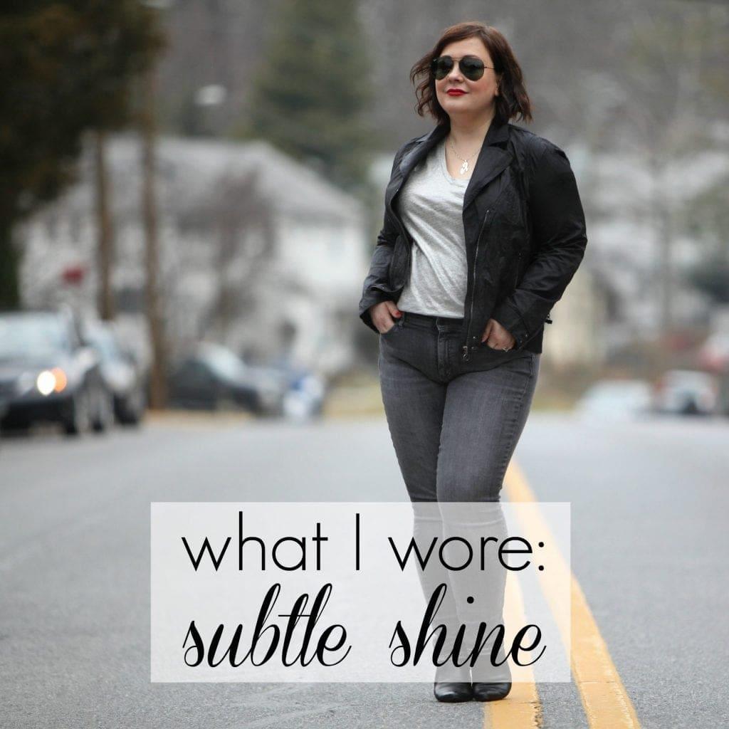 Wardrobe Oxygen What I Wore Subtle Shine featuring Stella Carzinski What I Wore: Subtle Shine