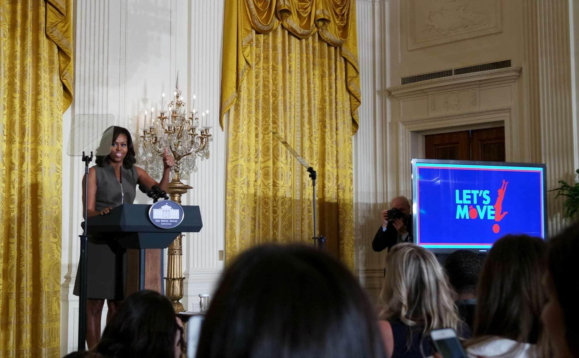 Michelle Obama, even more awesome in person!