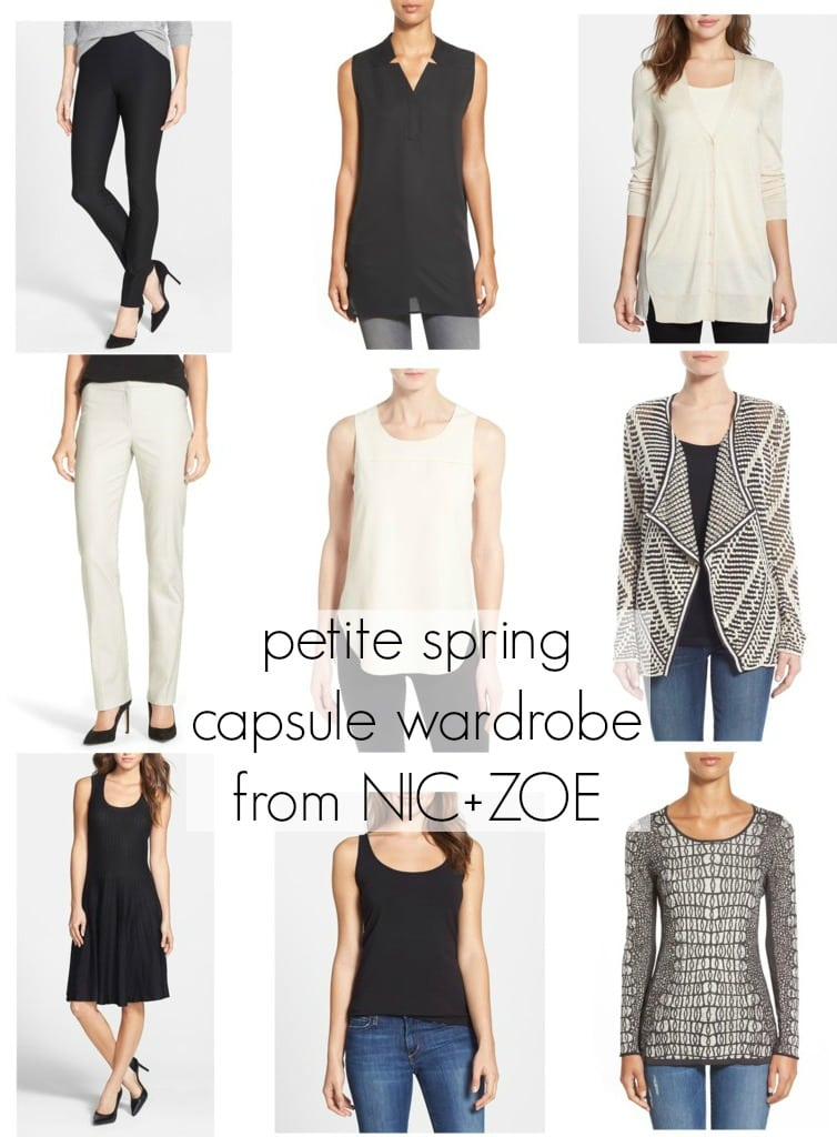 Wardrobe Oxygen: Spring Capsule Wardrobe from the petite collection of NIC+ZOE at Nordstrom