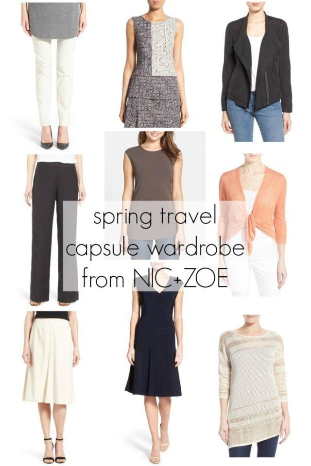 Wardrobe Oxygen: Spring Travel Capsule Wardrobe via NIC+ZOE for Nordstrom