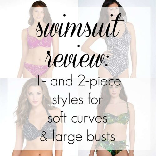 712e09e3bc436 Swimsuit Review: More Suits for a Large Bust and Soft Belly | Wardrobe  Oxygen
