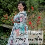 What I Wore: Going Country