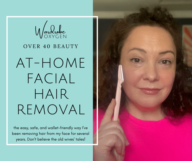 at home facial hair removal