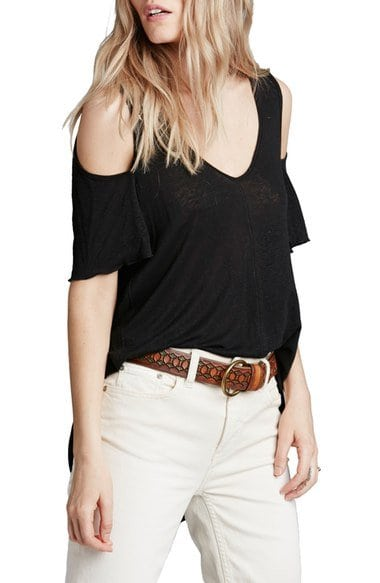 freepeople bittersweet cold shoulder top
