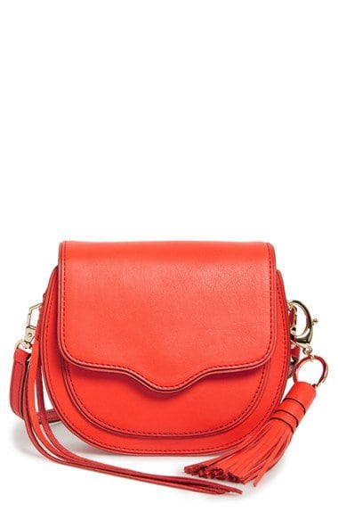 rebecca minkoff mini suki orange