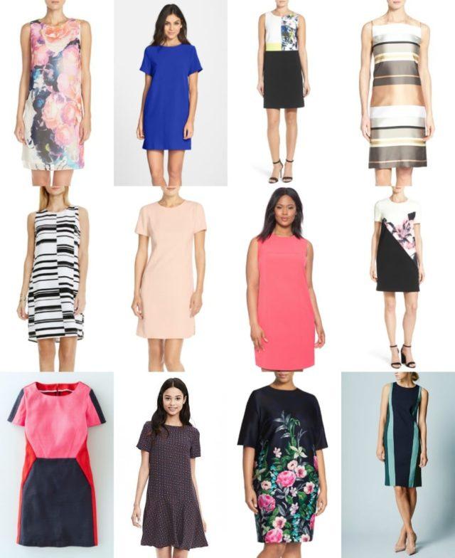 shift dresses for spring and summer - wardrobe oxygen