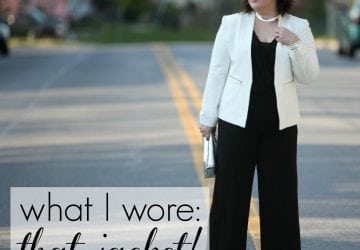 What I Wore: That Jacket!